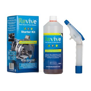 Revive Turbo Cleaner 750ml StarterSet Turbolader ,VTG,  AGR, EGR Motor Reiniger